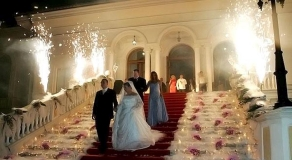 Ciragan Palace Kempinsky Fireworks Display wedding